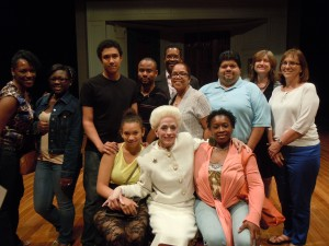 Holland Taylor Embraces our Dream Kids and Staff!