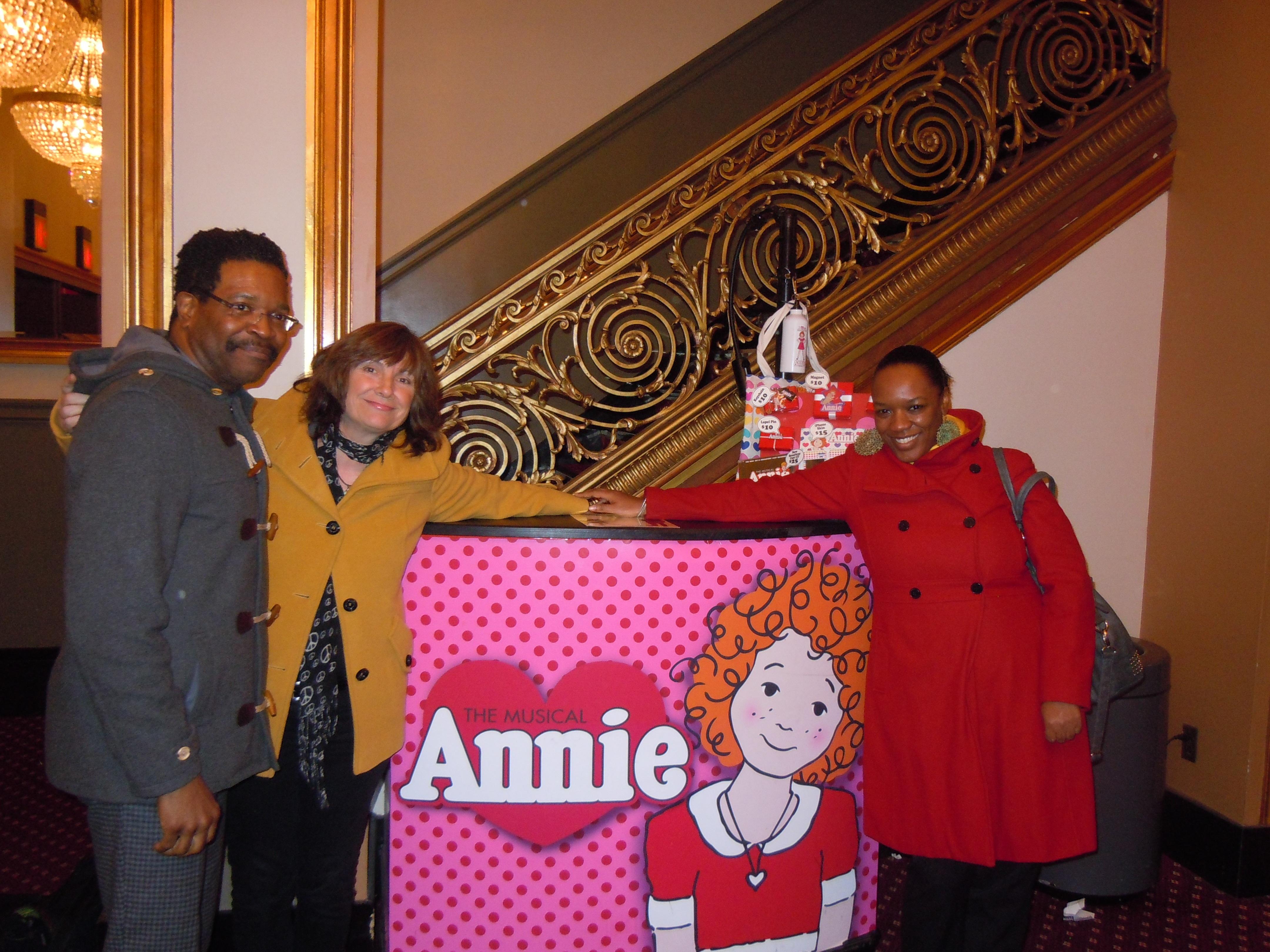ANNIE on Broadway hosts Foster Your Dream