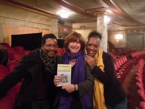 Darrell Williams, Sue Wolf, Deidra Sutton